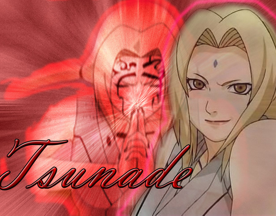 Tsunade Wallpaper by LittleArtFail 900x703