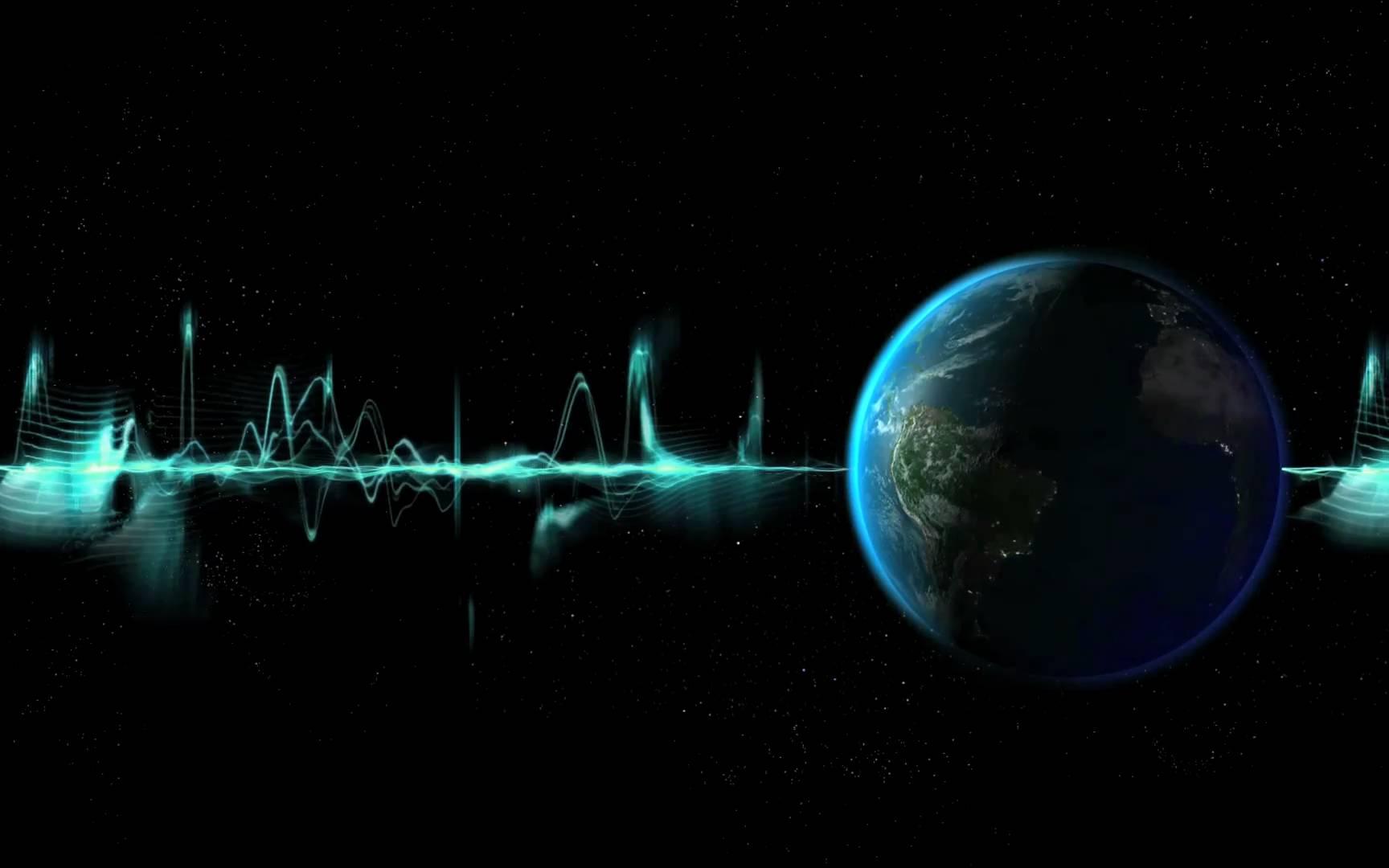HD Dreamscene Animated rotating earth Space Wallpaper 1728x1080