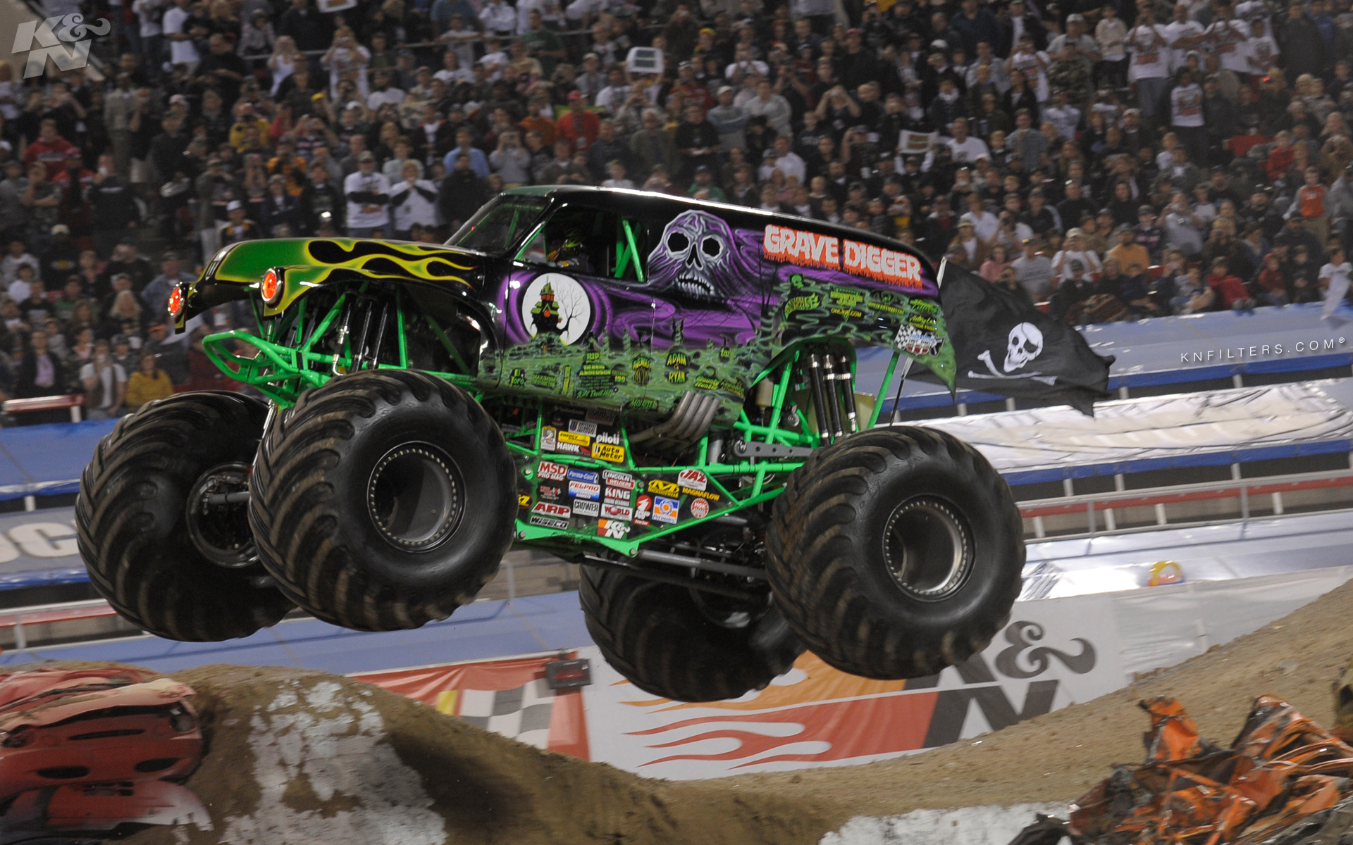 54 Grave Digger Wallpaper On Wallpapersafari