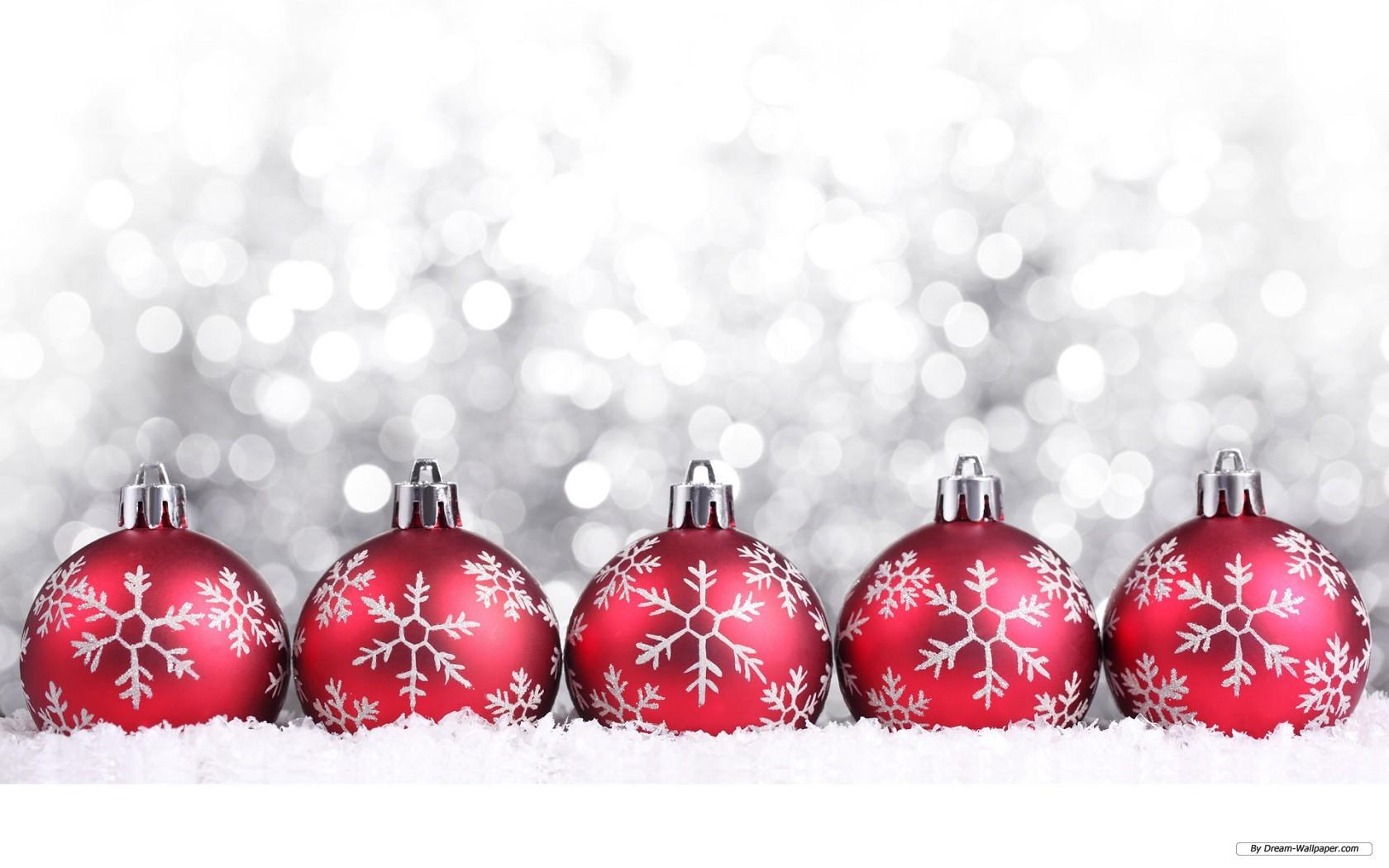 Wallpaper   Holiday wallpaper   Christmas Ornaments 5 1680x1050