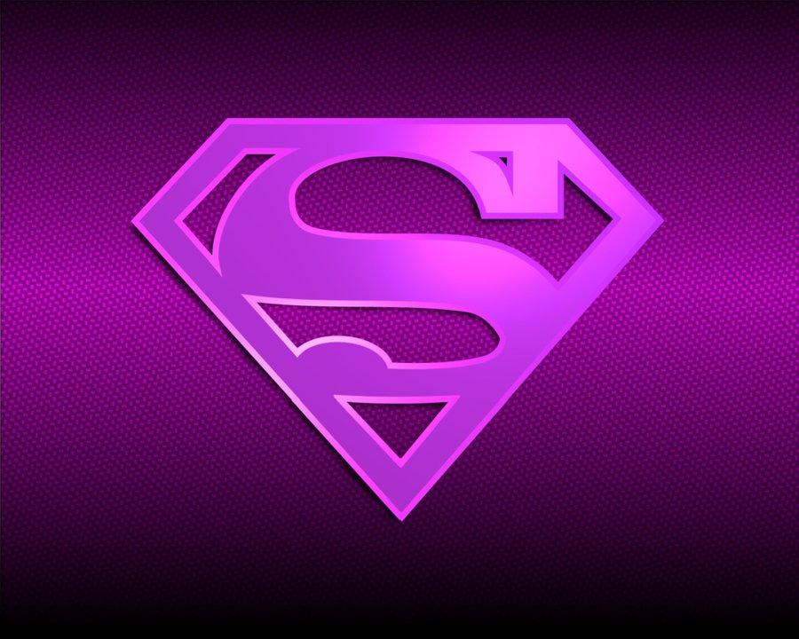 Superwoman Sign Wallpaper Pink supergirl logo wallpaper 900x720