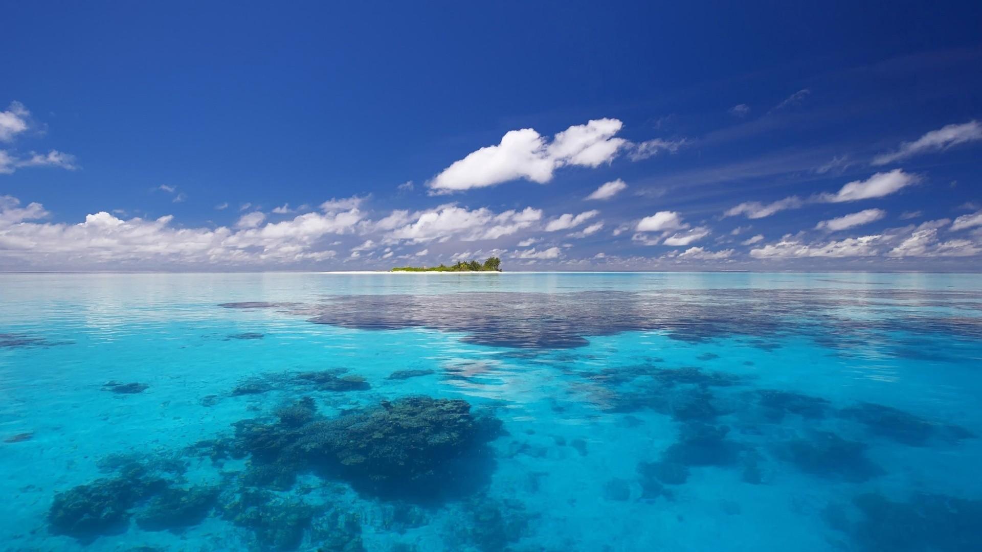 Ocean Reef Wallpaper 1920x1080 Ocean Reef Skyscapes 1920x1080