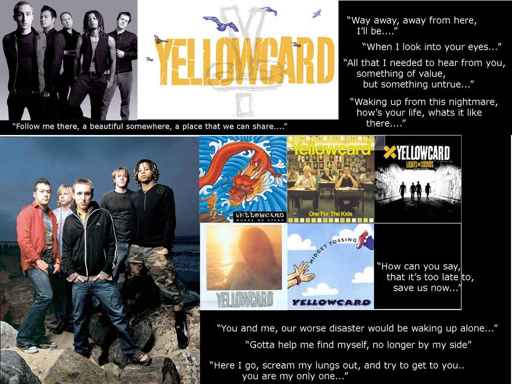 Yellowcard Wallpapers 1032x774
