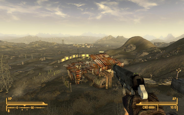 Fallout new vegas wallpaper widescreen wallpapersafari - Fallout new vegas skyline ...
