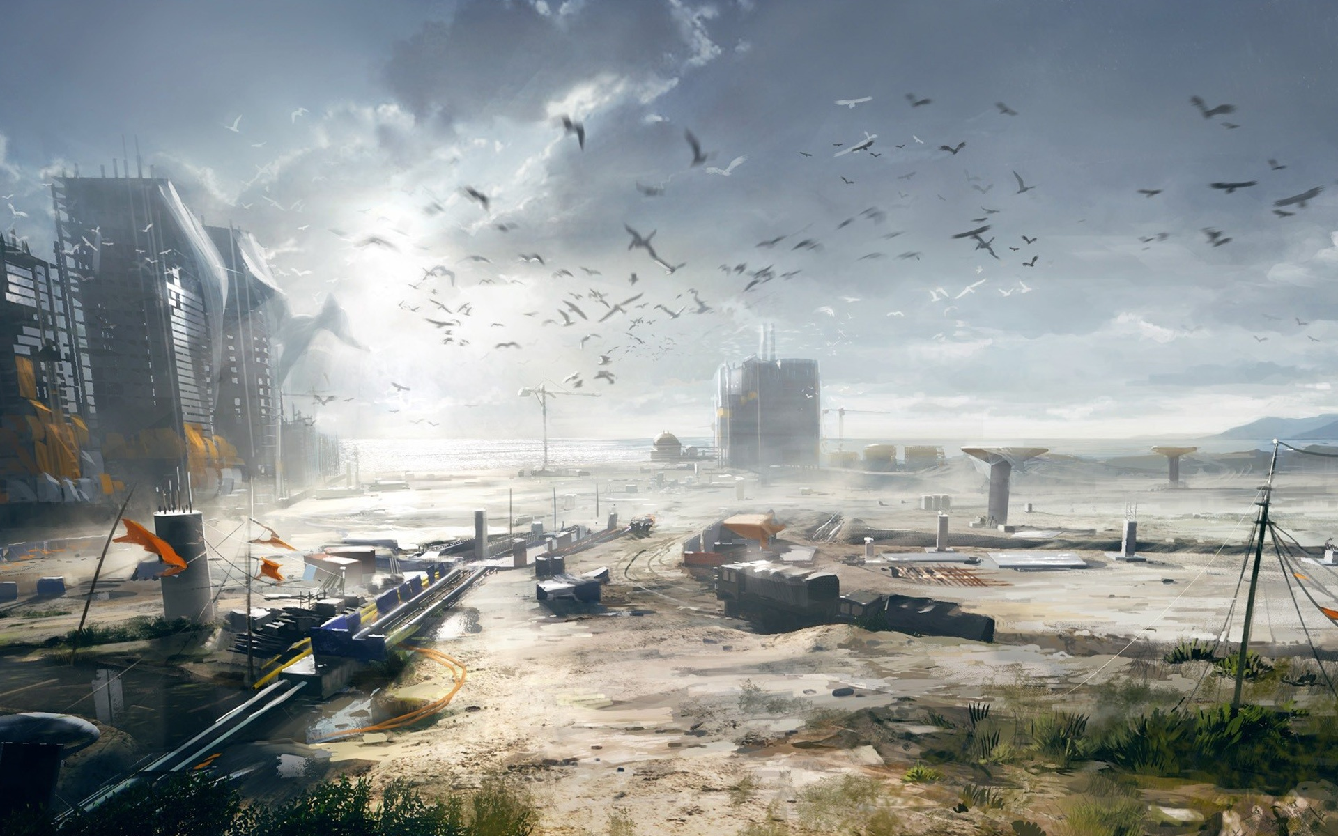 Battlefield 4 Concept Art Wallpapers HD Wallpapers 1920x1200