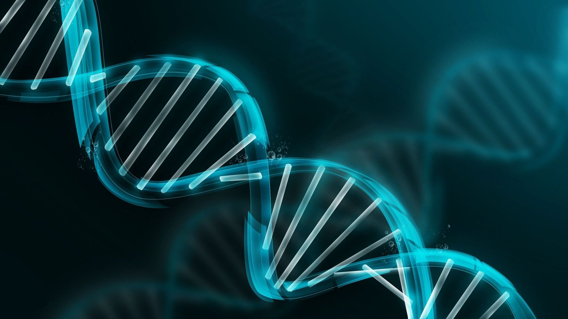 dna molecule wallpaper   HD Background 1920x1080