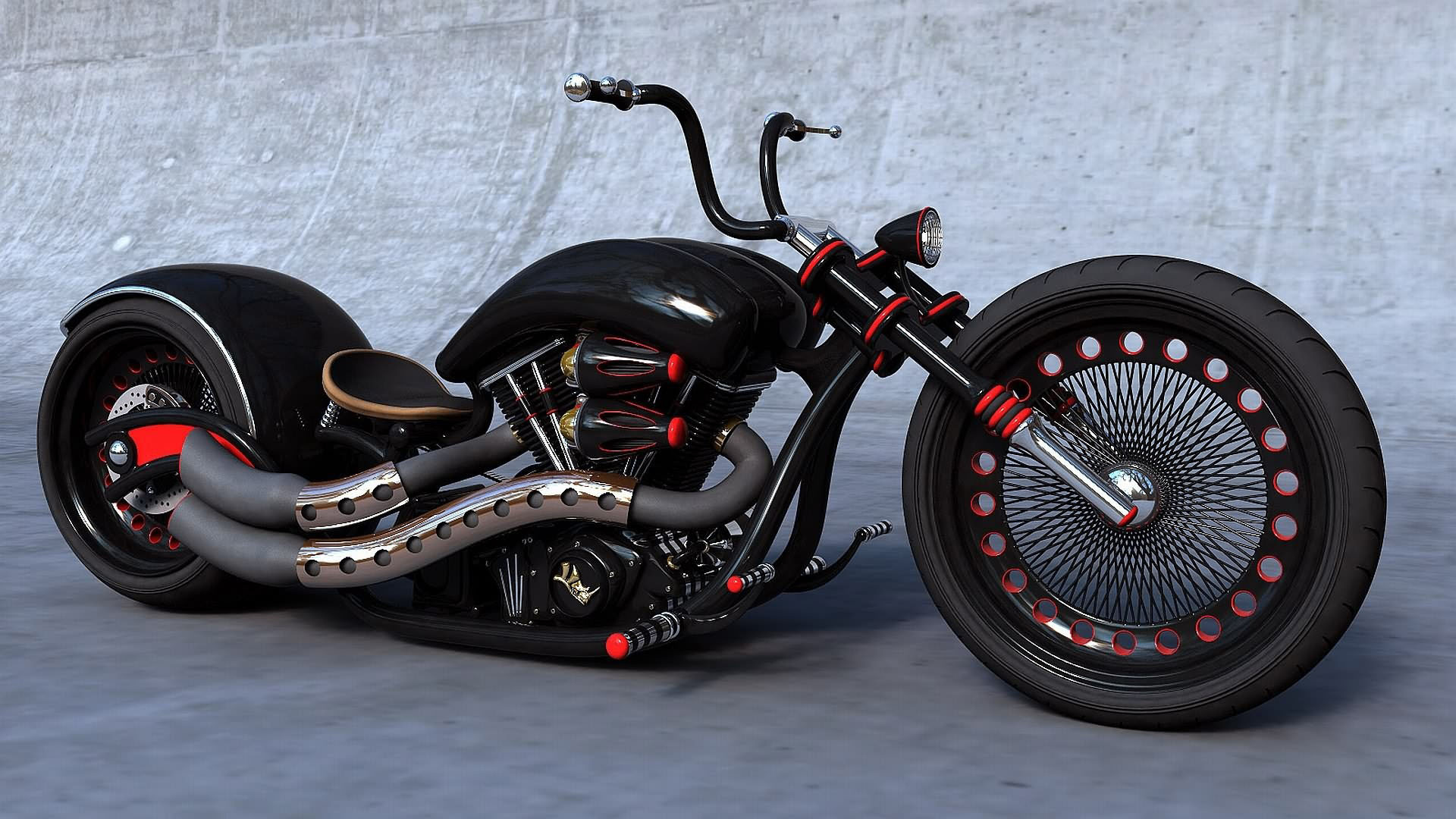 cool chopper wallpaper black motorcycle goodwp motorcycles 1920x1080