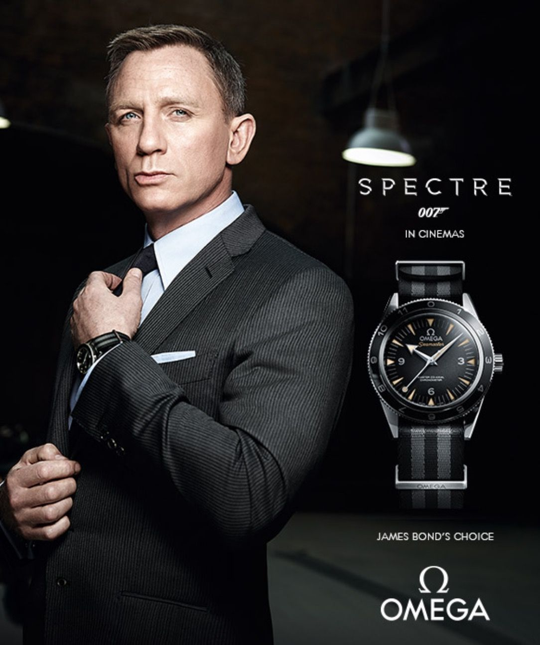 The limited edition James Bond Spectre Watch Omega JamesBond 1084x1294