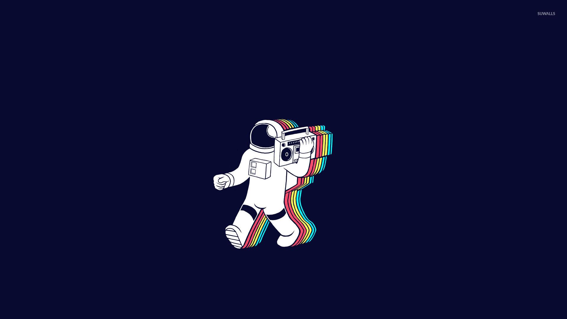 Космонавт  № 1449699  скачать
