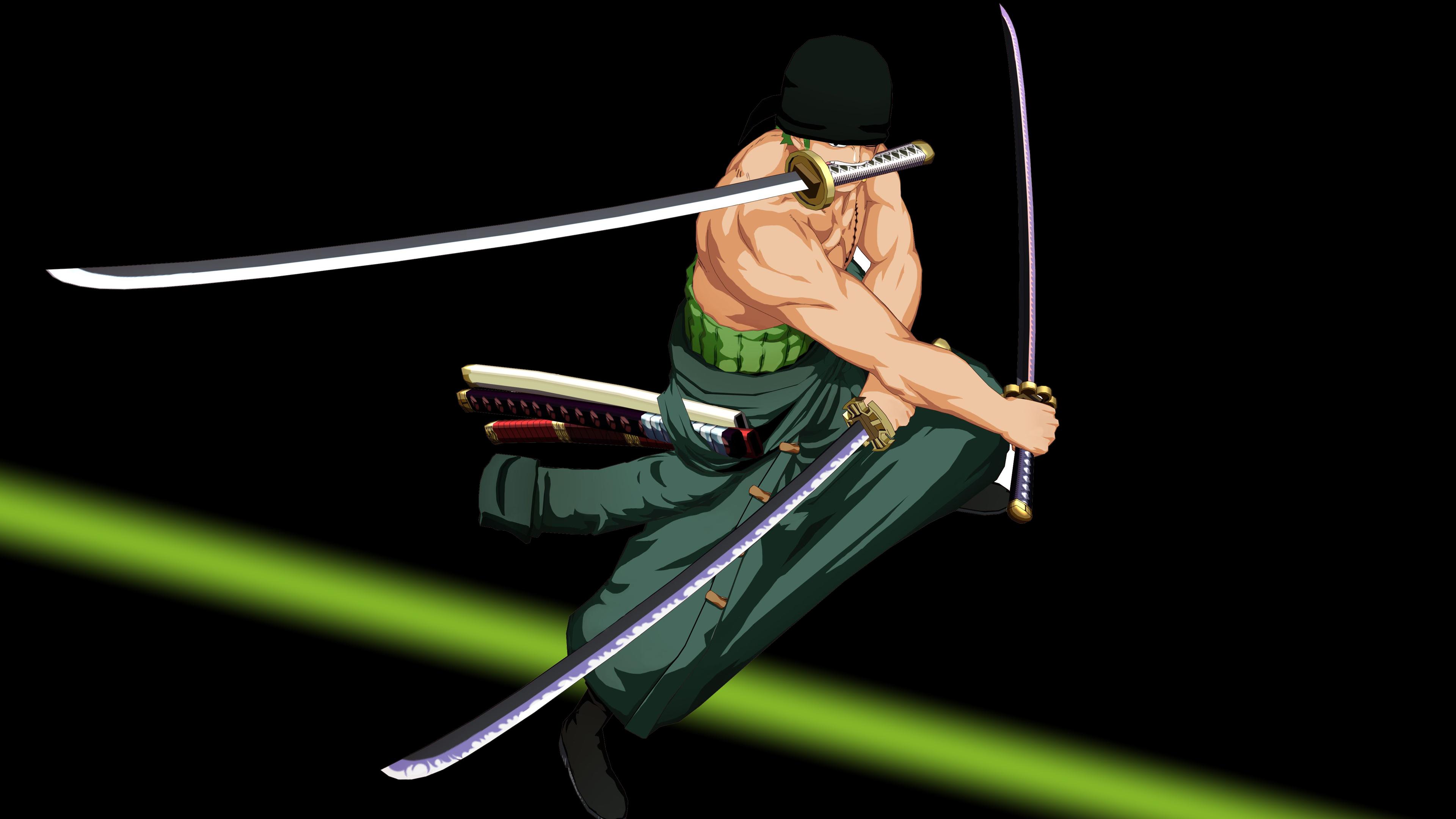 Zoro One Piece 4k Ultra HD Wallpapers 3840x2160