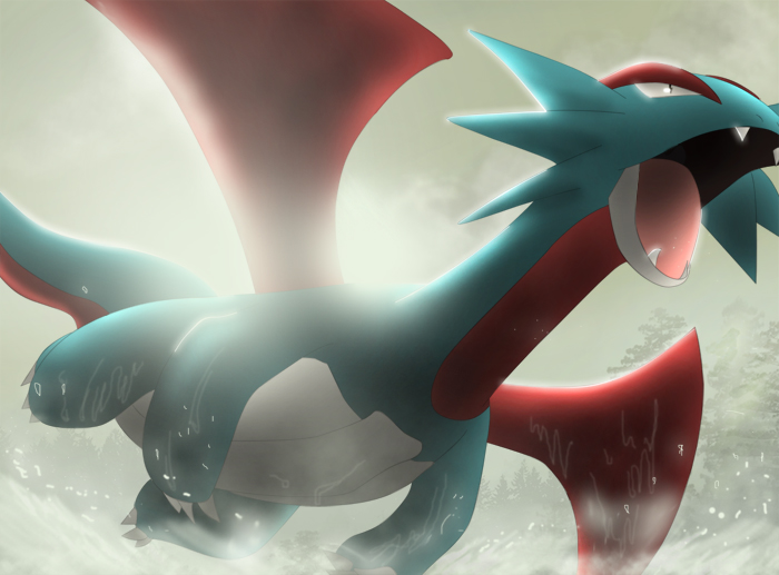 Salamence by All0412 700x517