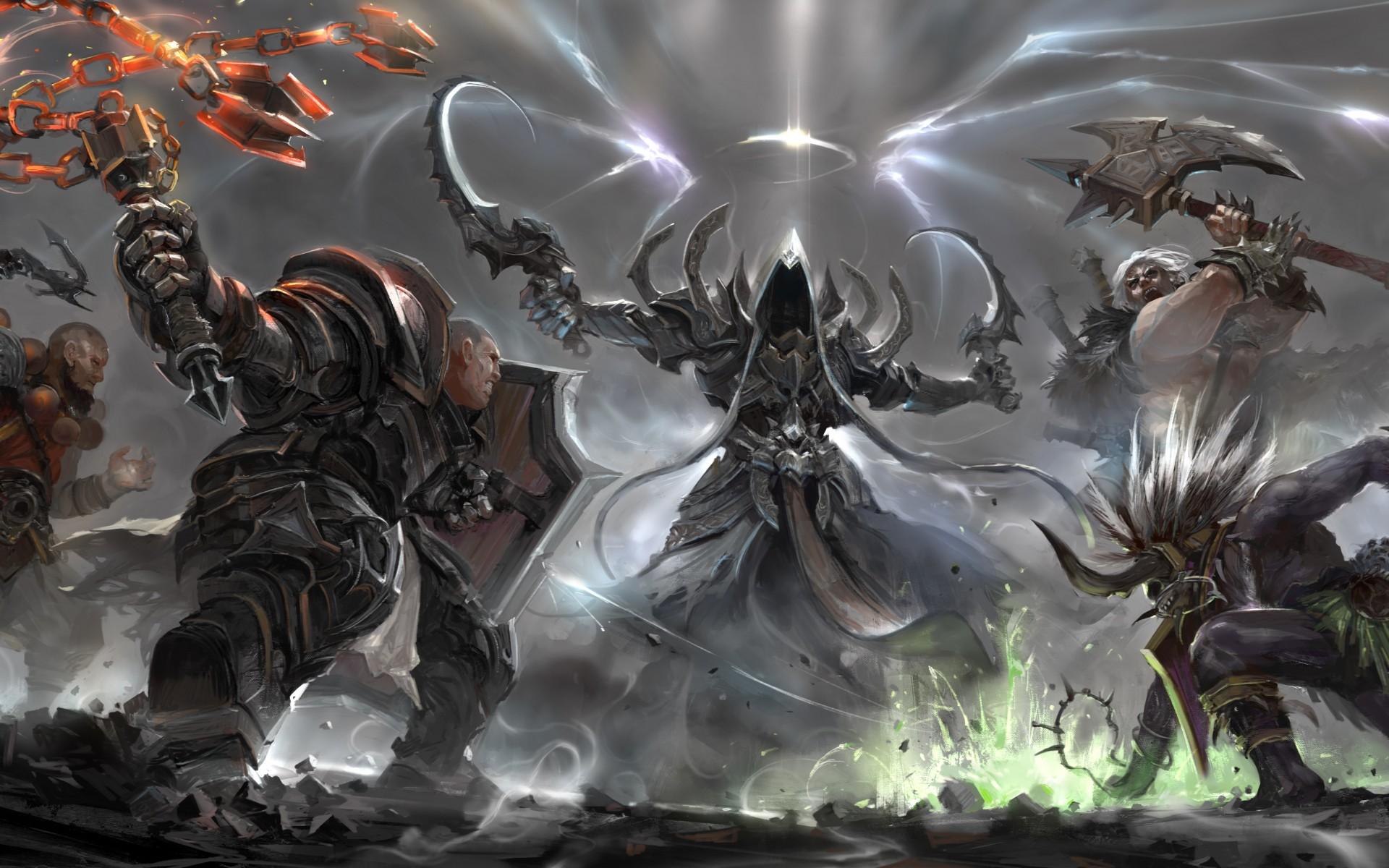 Diablo 3 Reaper Of Souls Wallpapers: Diablo Reaper Of Souls Wallpaper