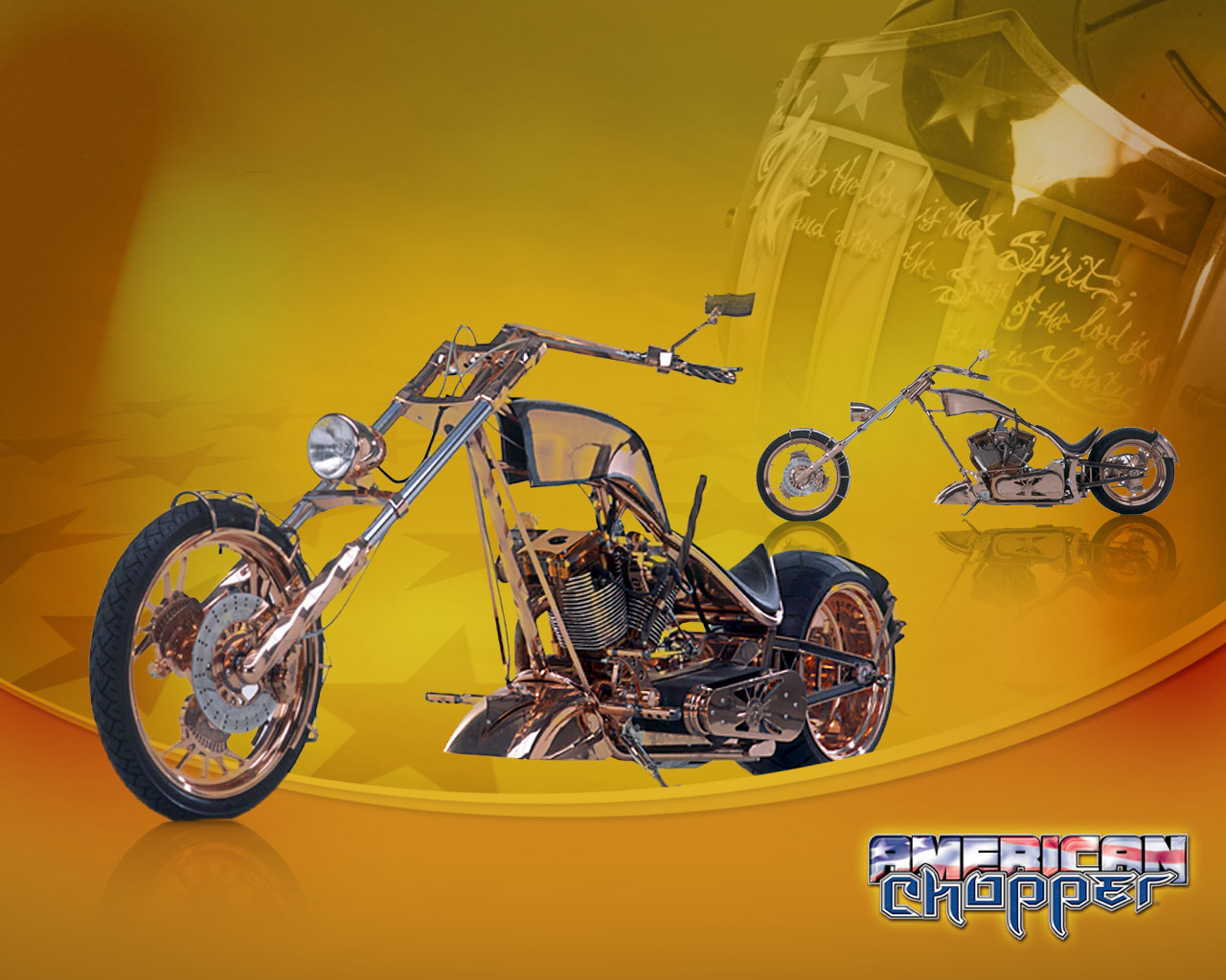 American chopper   Orange County Choppers Wallpaper 1280x1024