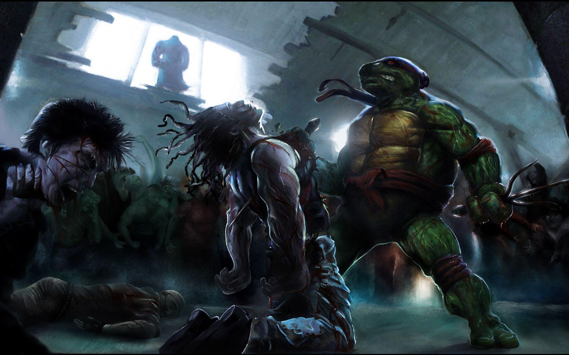 Free Download Teenage Mutant Ninja Turtles Wallpaper Hd Background
