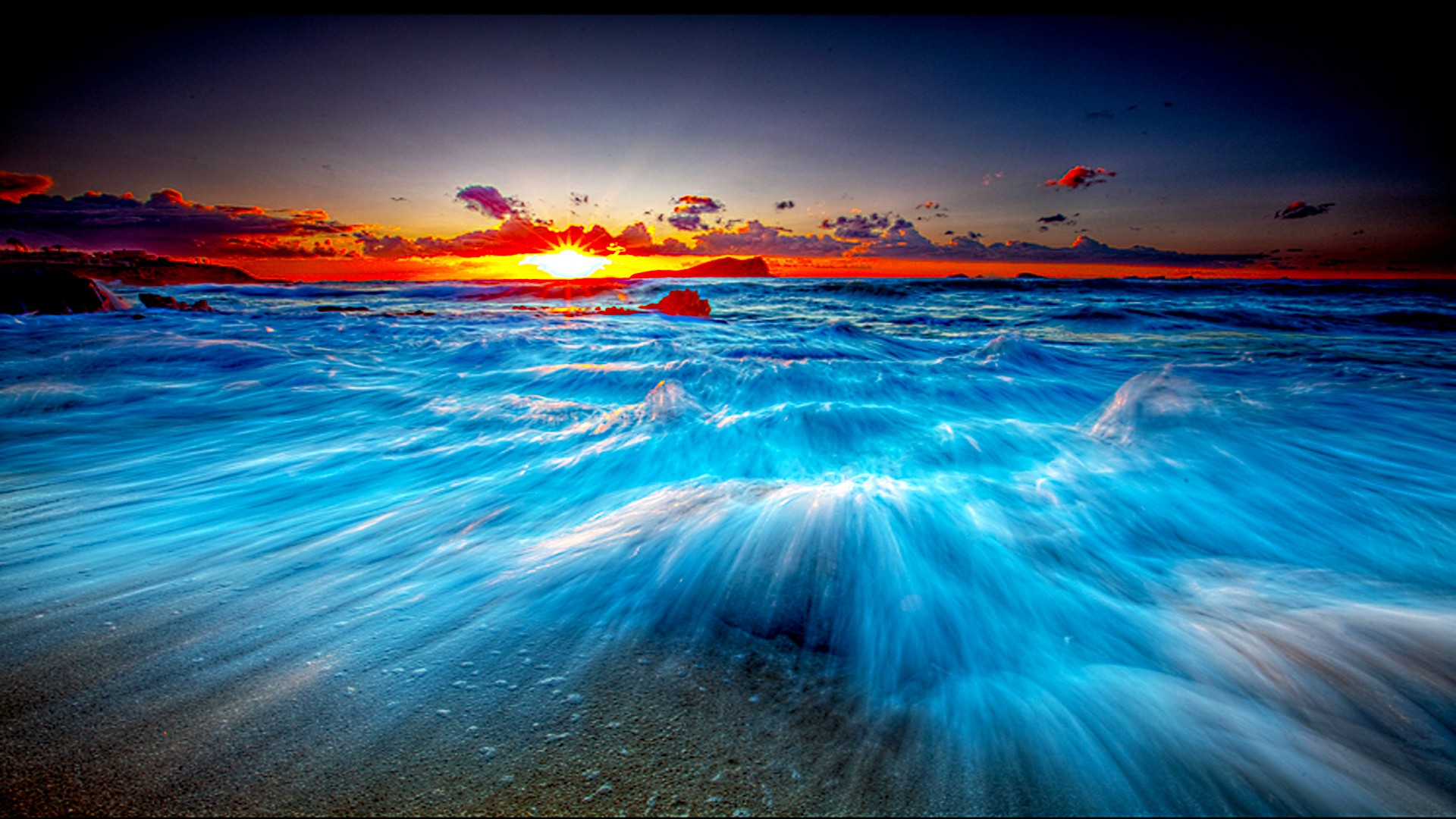 Ocean wave desktop wallpaper wallpapersafari - Ocean pictures for desktop background ...