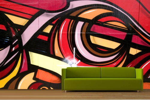 Graffiti Abstract Wallpaper 501x334