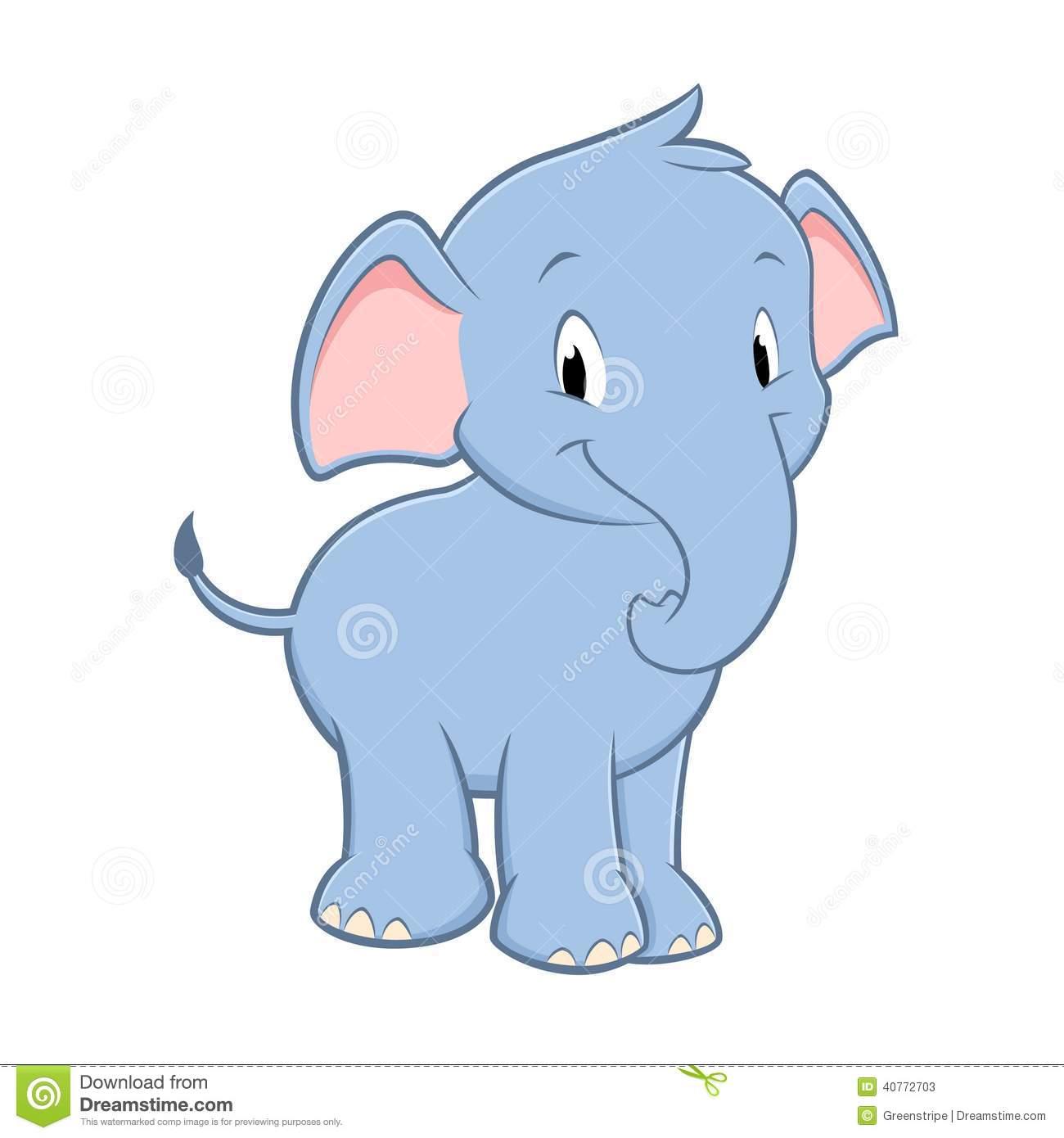 Baby Elephant Wallpaper Cartoon - WallpaperSafari