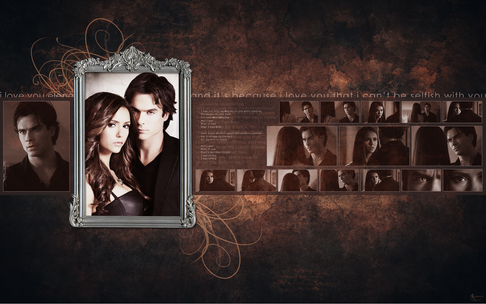 Google themes vampire diaries - New Vampire Diaries Season 2 Desktop Wallpapers Novel Novice