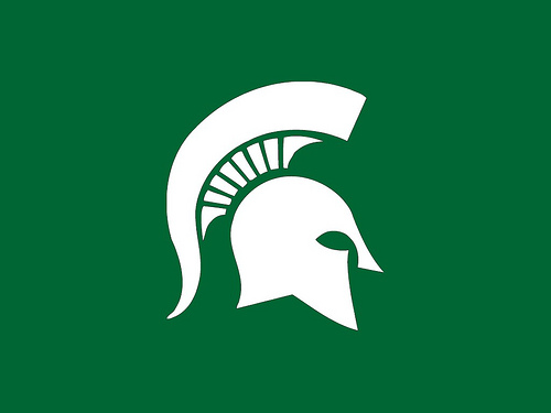 Michigan State Wallpaper I just made this simple clean w 500x375