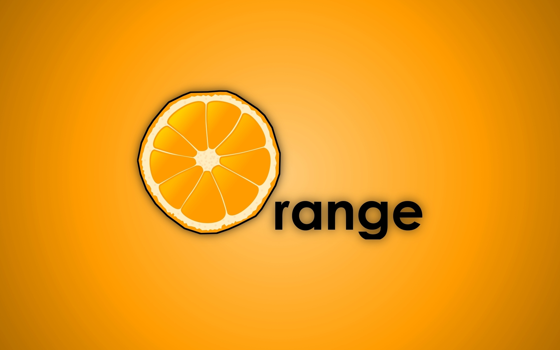 Orange phone wallpaper wallpapersafari for Orange mobel