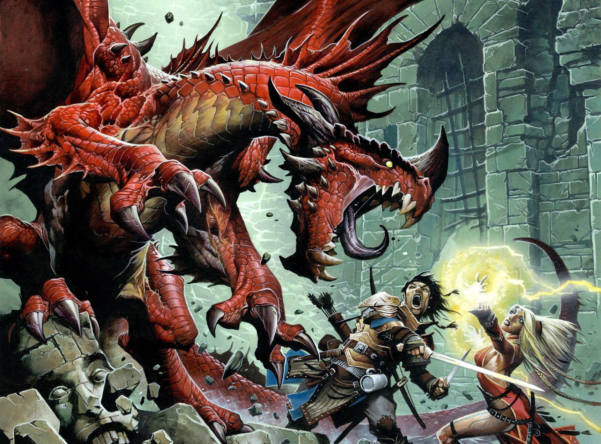 PATHFINDER rpg fantasy dragon board 2 wallpaper 1920x1418
