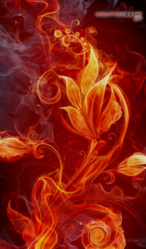 Fire Flower Wallpaper Top Wallpapers   HD Desktop Backgrounds 600x1024