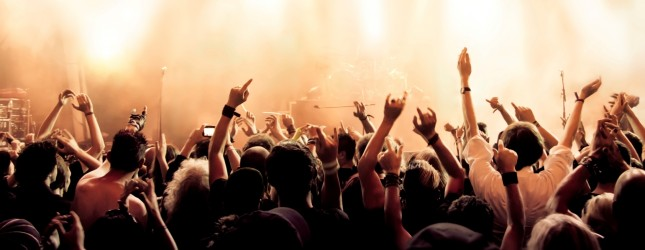 Rock Concert Crowd Wallpaper Concert crowd 645x250