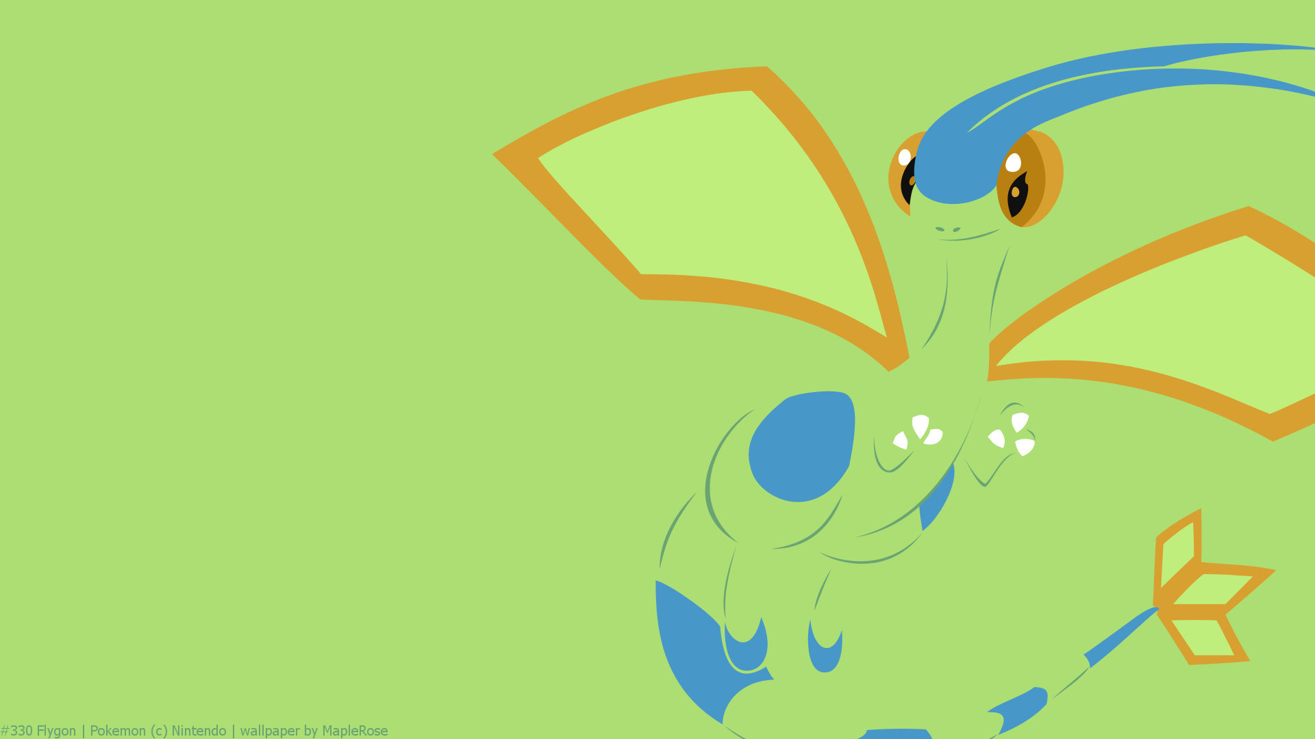 Best Flygon Pokemon wallpaper ID280540 for High Resolution 1080p PC 1920x1080