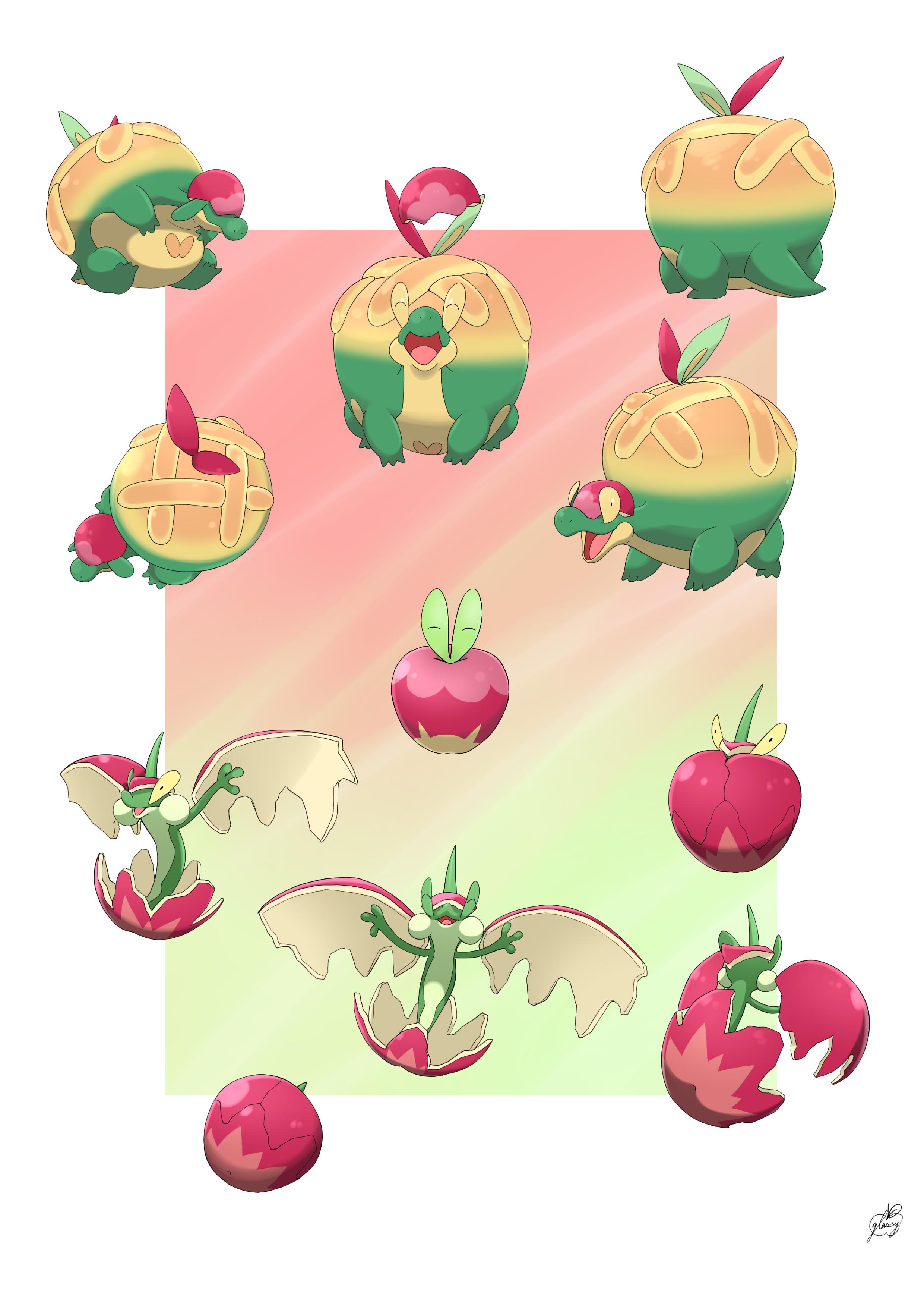 Applin   Pokmon Sword Shield   Zerochan Anime Image Board 2480x3508
