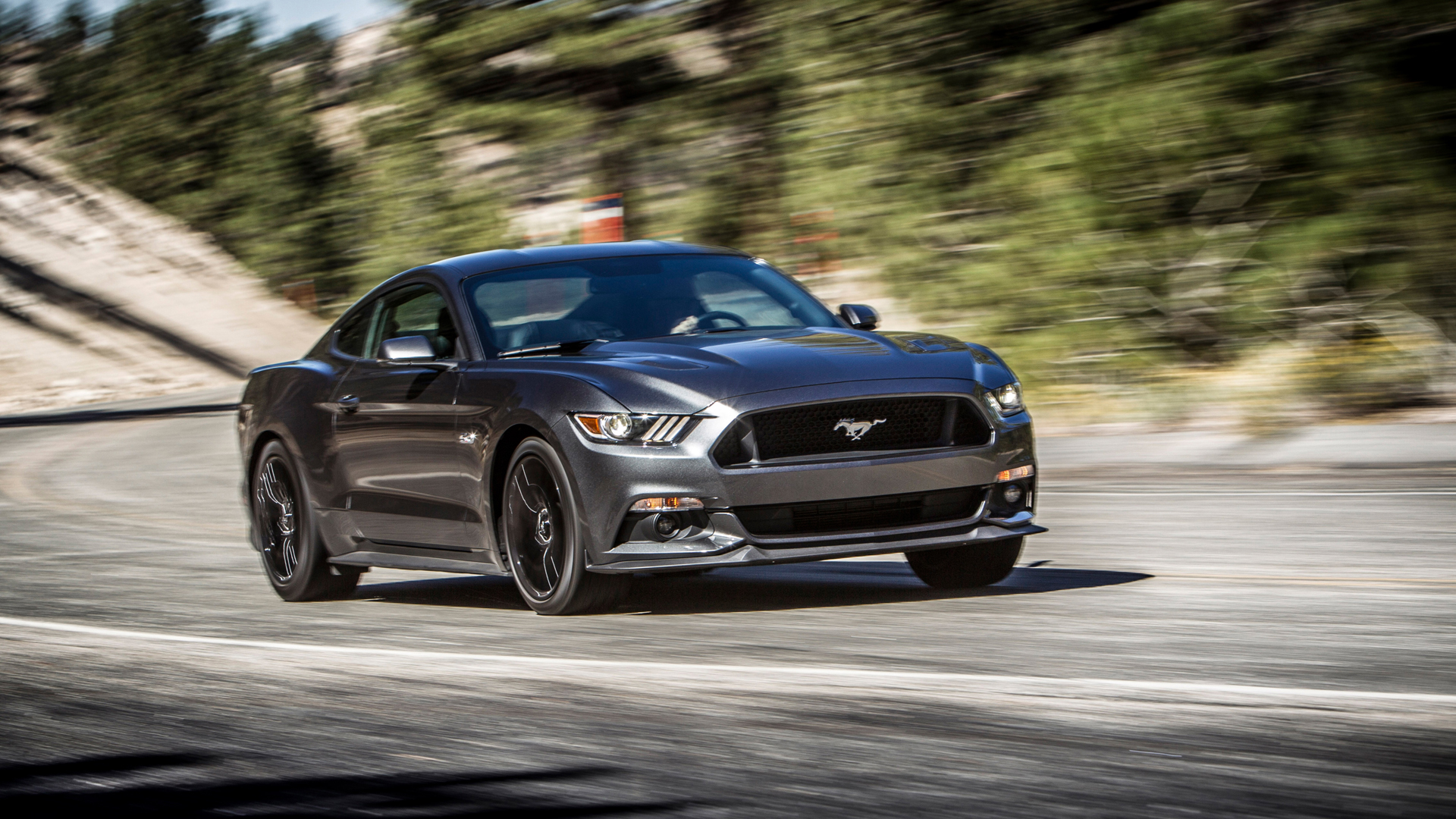 Mustang GT 2015 Wallpapers Ford Mustang GT 2015 Photos Ford Mustang GT 1920x1080