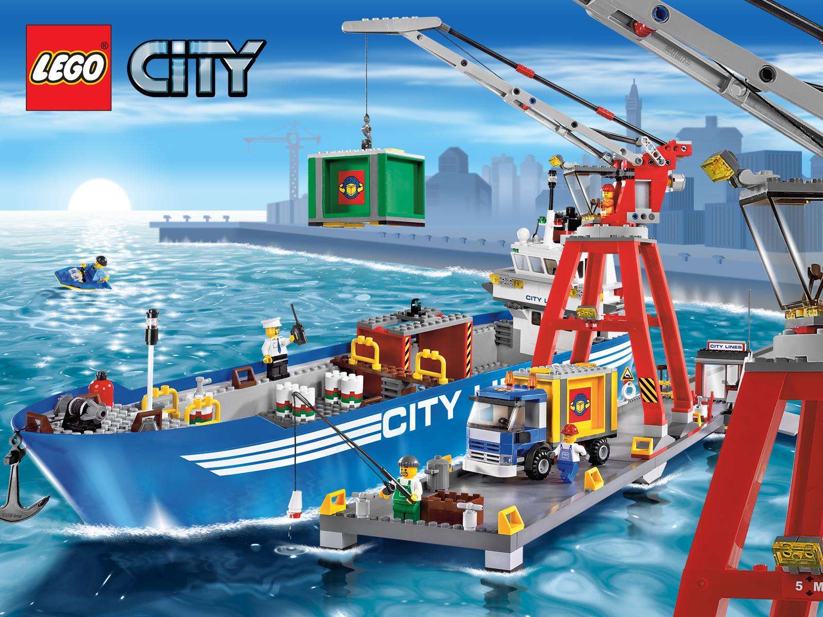 47+ LEGO City Wallpaper on WallpaperSafari