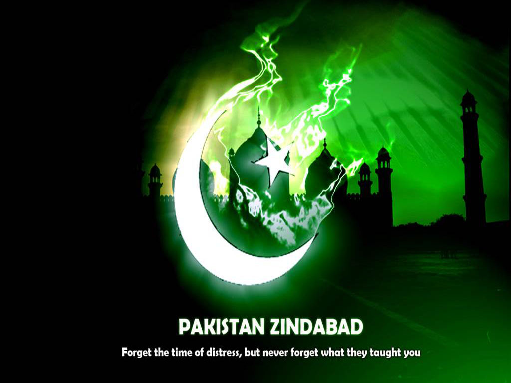 Happy Independence Day of Pakistan 14 August 2013 Wallpapers 1024x768