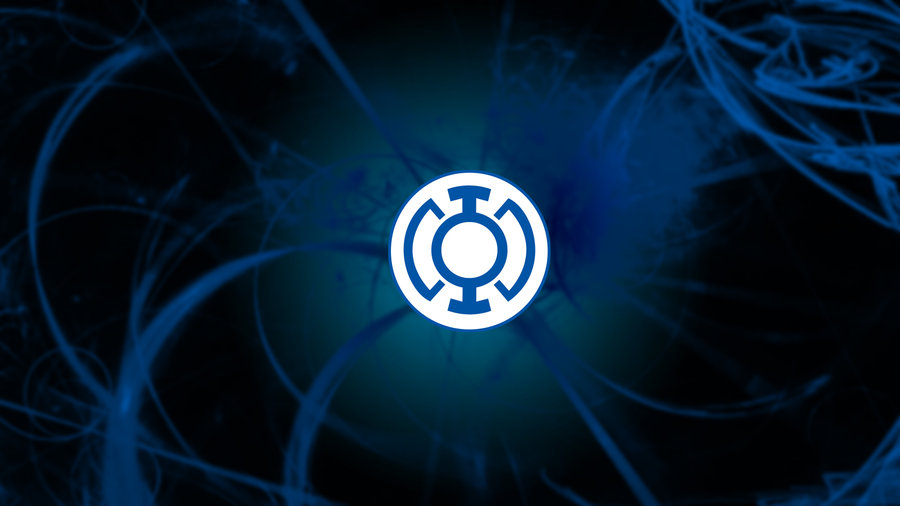Blue Lantern Corps Symbol Wallpaper Blue lantern wallpaper by 900x506