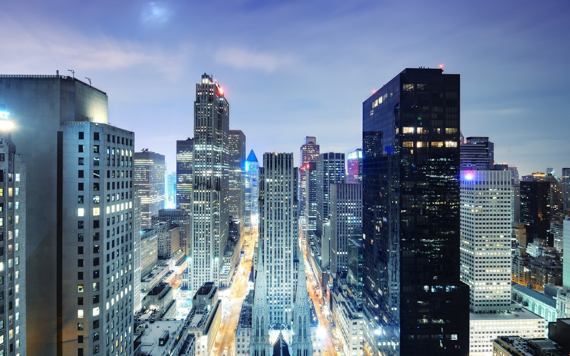 Fantastic City Buildings Wallpaper 43930 1920x1200px 1920x1200