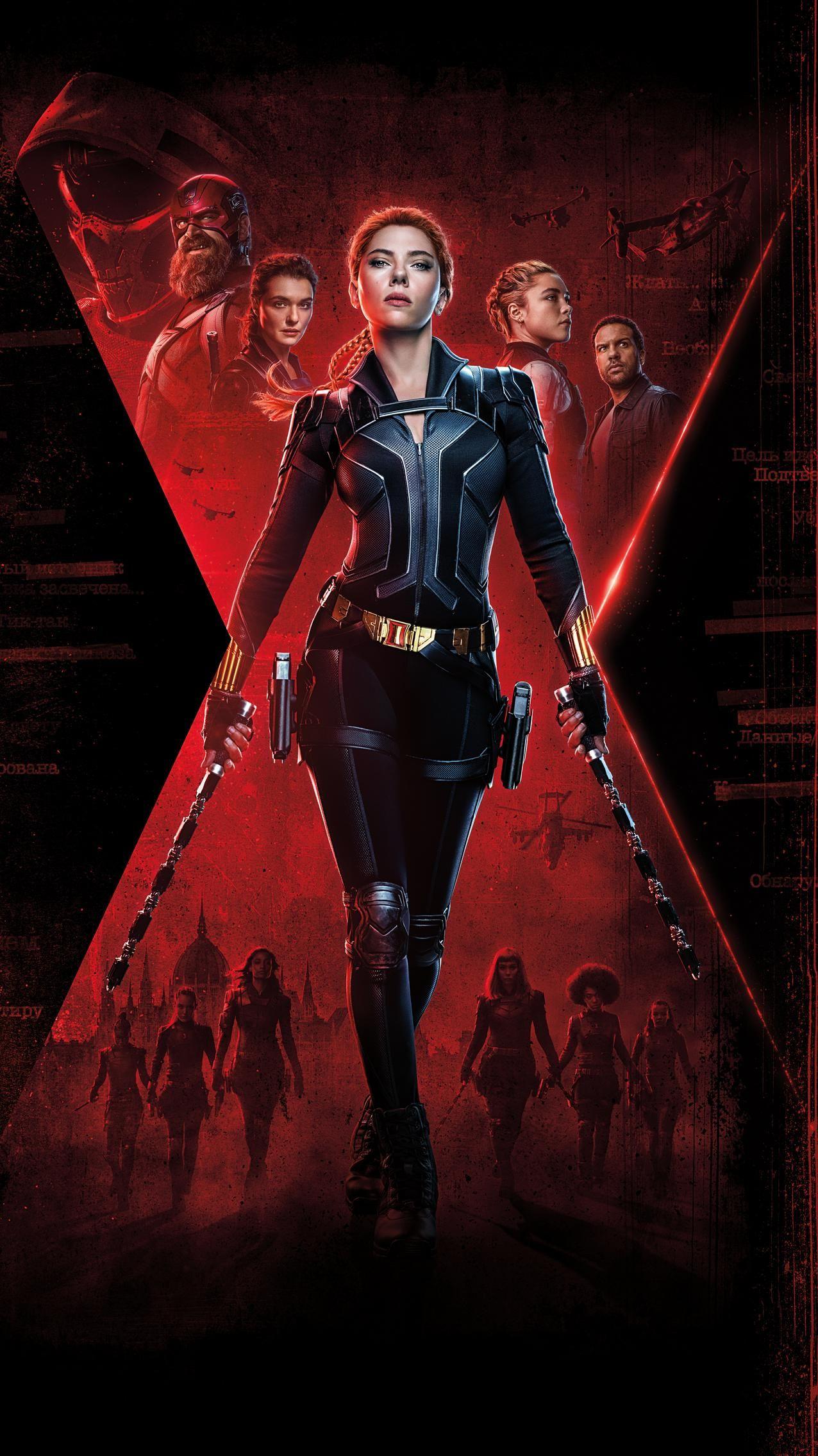 Black Widow 2021 Phone Wallpaper Moviemania Black widow 1276x2270
