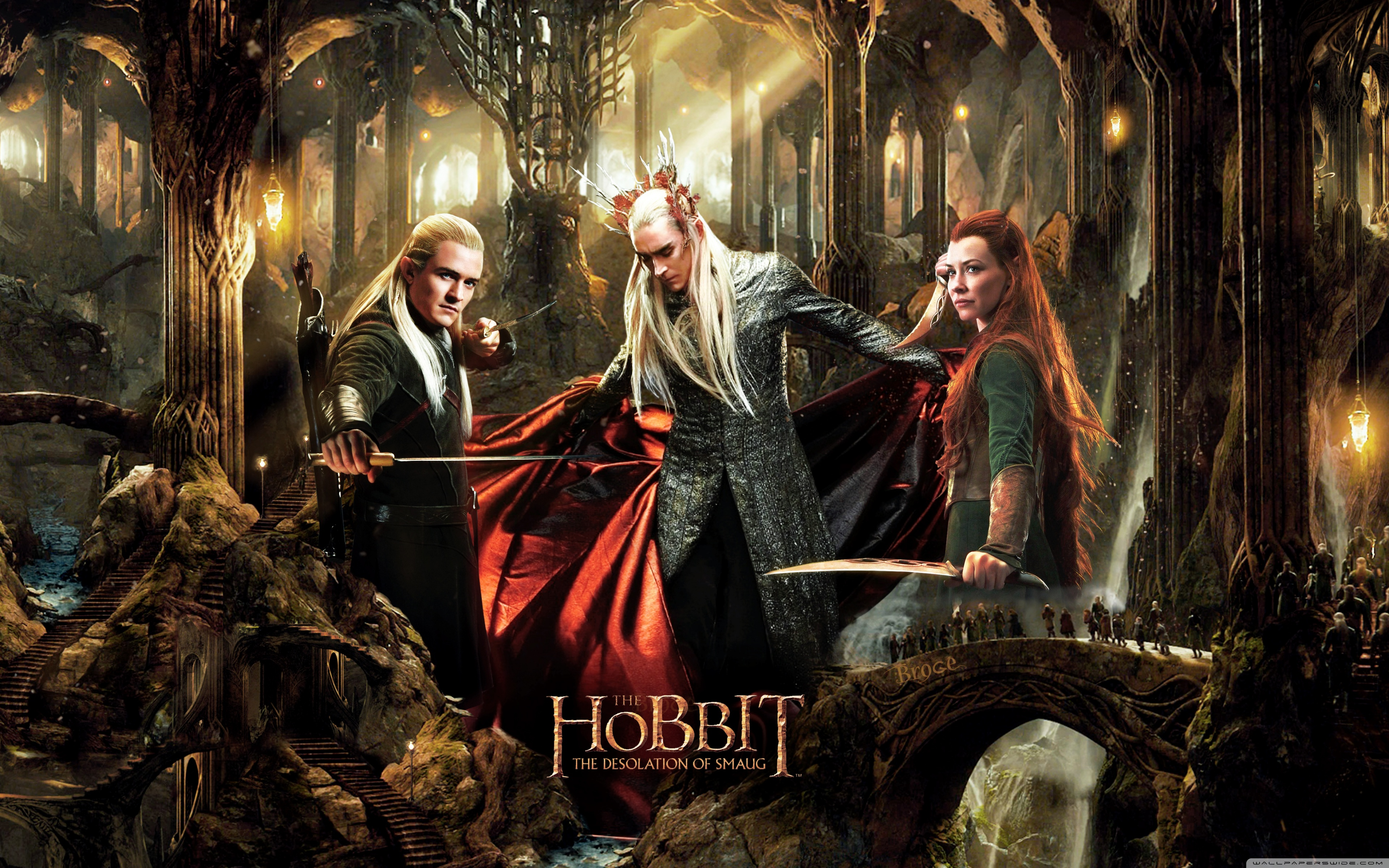 The Hobbit The Desolation of Smaug Wallpapers and Background 3840x2400