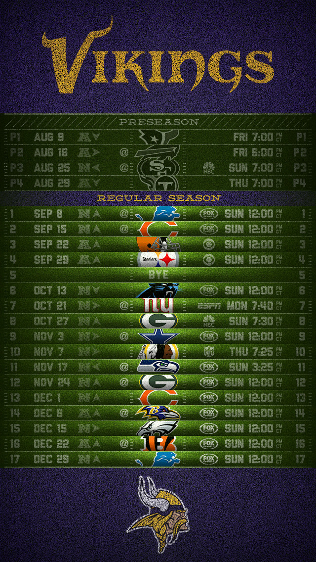 image about Printable Vikings Schedule named Free of charge down load Printable Vikings Routine Celebration Invites