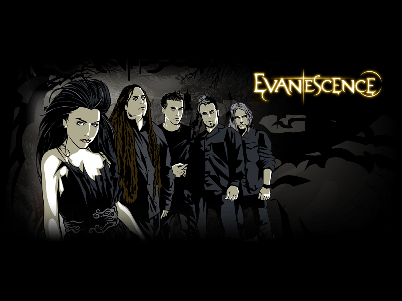 Evanescence Wallpapers in addition  on evanescence 18723