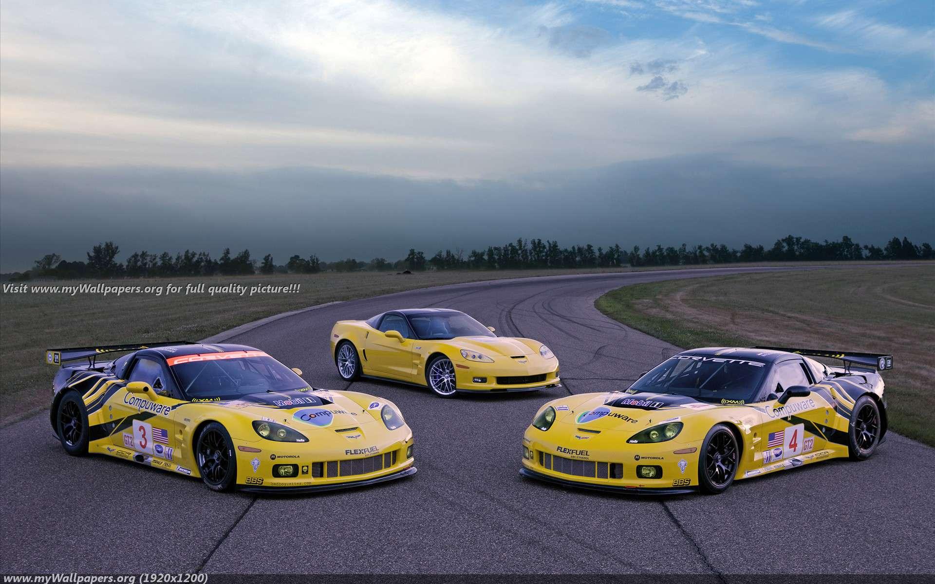 Corvette Racing   Next Generation C6R Wallpaper 36043 1920x1200