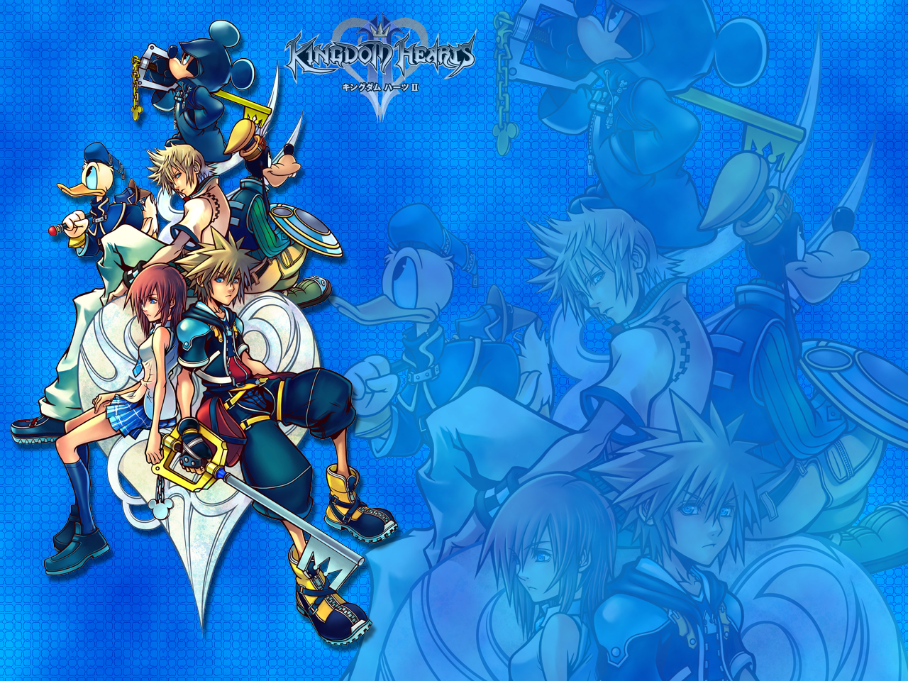 Kingdom Hearts II Wallpaper by Moonshadow87 1280x960