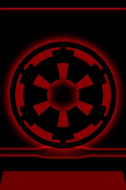 Star Wars Imperial Logo Wallpaper Desktop wallpaper imperial 427x640