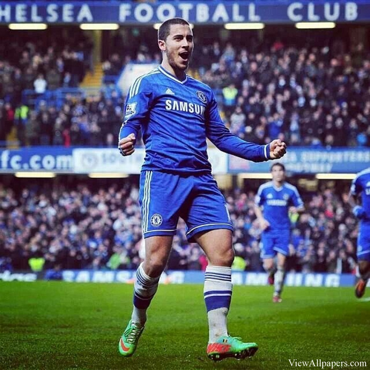 Eden hazard wallpaper hd wallpapersafari eden hazard chelsea for pc computers desktop background smartphones voltagebd Image collections
