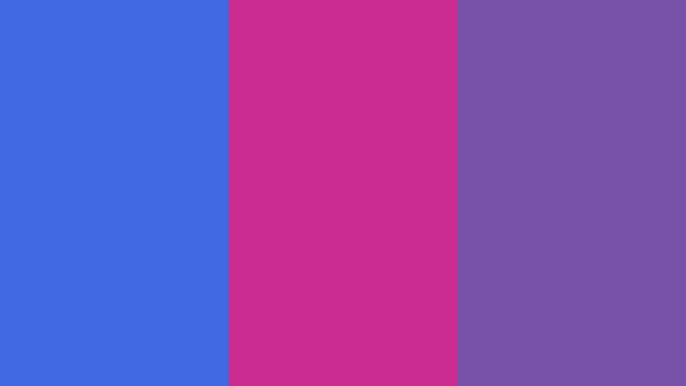 Royal Blue Web Royal Fuchsia and Royal Purple Three Color Background 1366x768