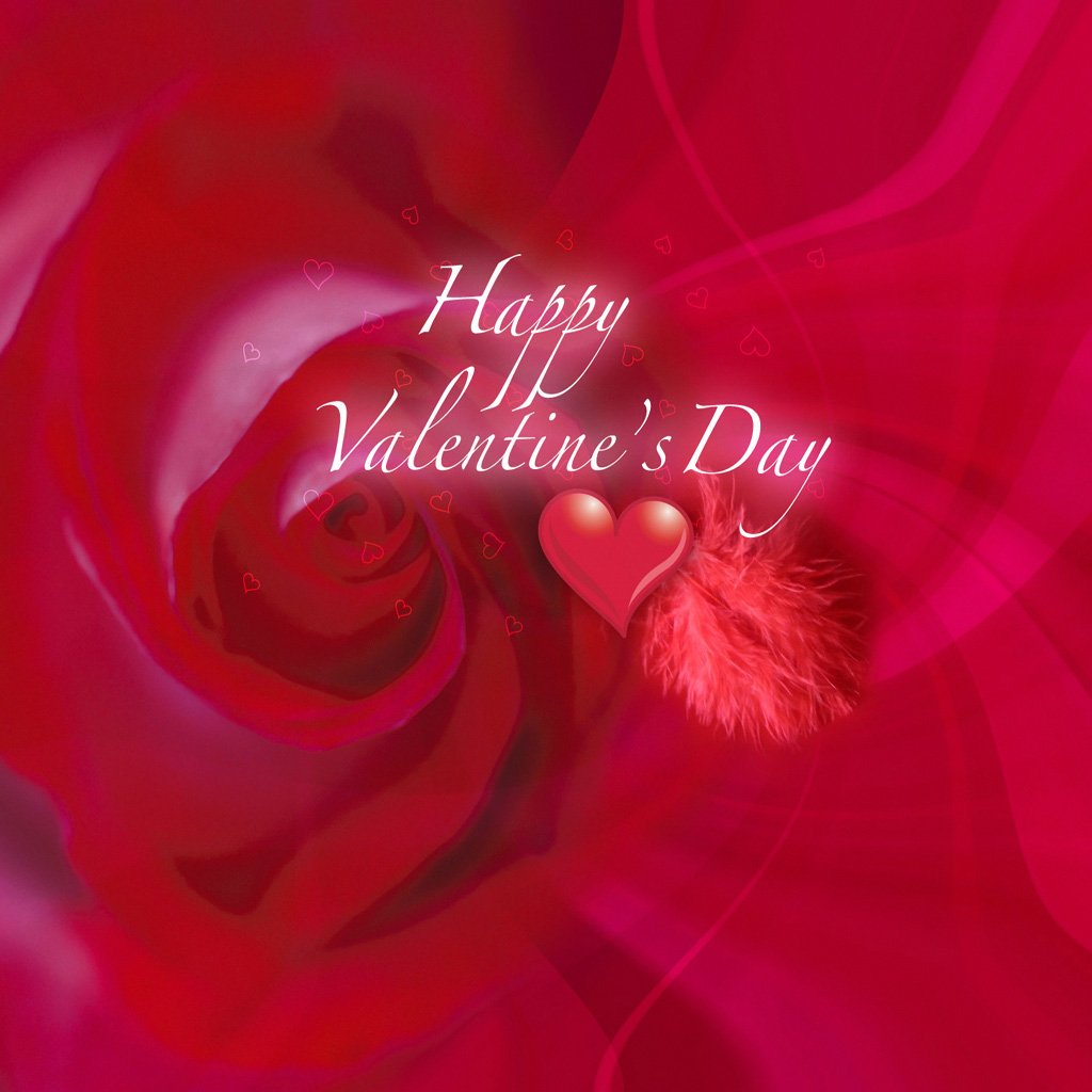 download Wallpapers for Apple iPad Happy Valentines day 1024x1024