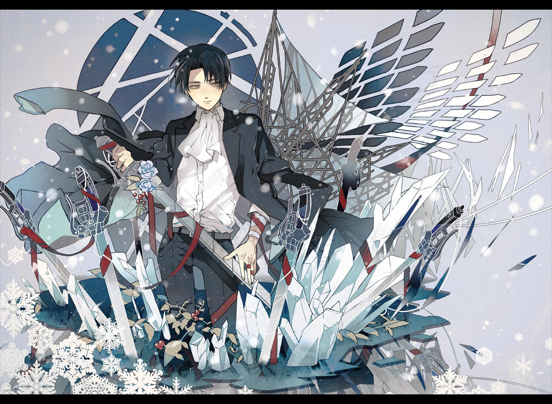 Anime Attack On Titan Wallpaper Levi Ackerman