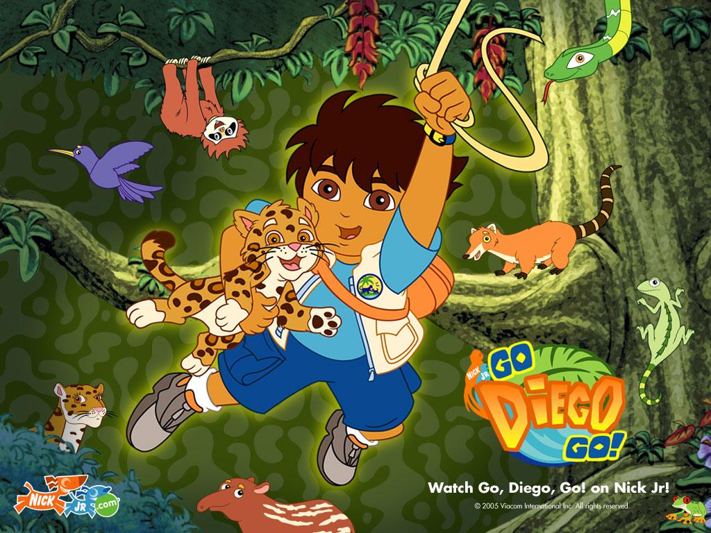 Go Diego Go Jungle Wallpaper   Go Diego Go Wallpaper   Cartoon 1024x768
