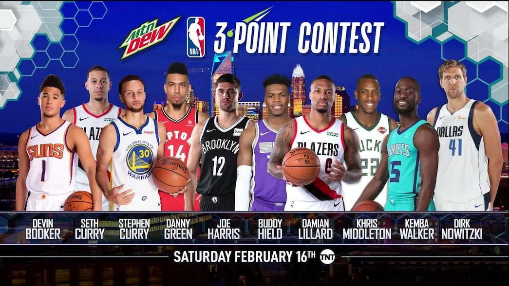 Mtn Dew 3 Point Contest Participants Announced NBAcom 1045x588