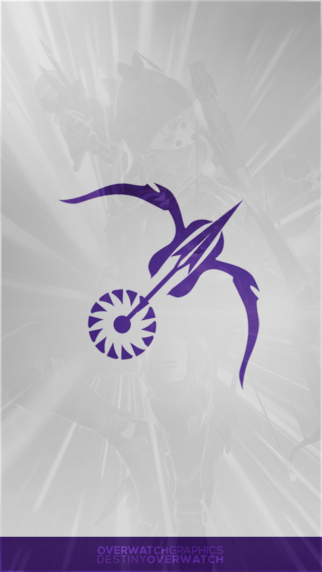 Destiny the Game   Simple Nightstalker Mobile BG by OverwatchGraphics 640x1136