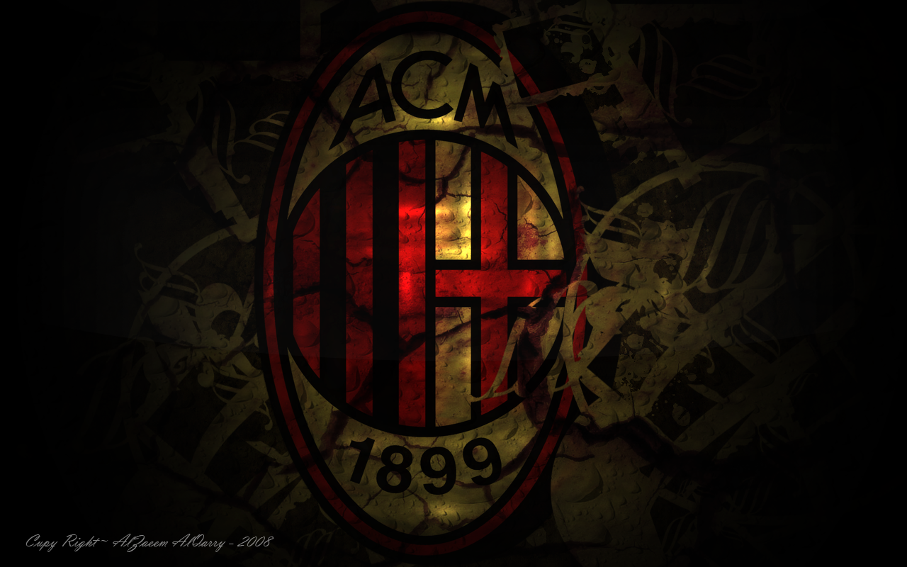 AC Milan Logo Wallpapers HD Collection Download Wallpaper 1280x800