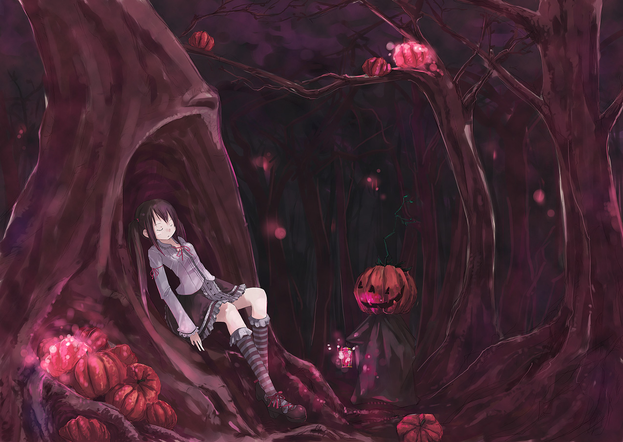 creepy forest wallpaper 1275x906 creepy forest halloween sleeping - Creepy Halloween Wallpapers